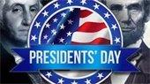 Presidents' Day Washington and Lincoln