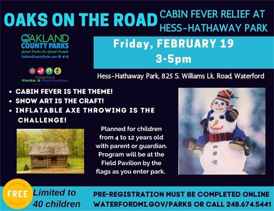 Cabin Fever Relief at the Parks