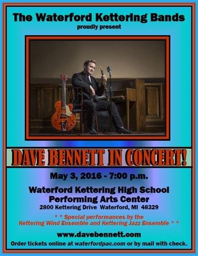 Dave Bennett in Concert