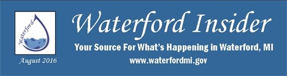 August 2016 Waterford Insider