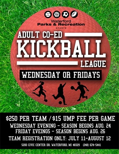 Co-ed Kickball