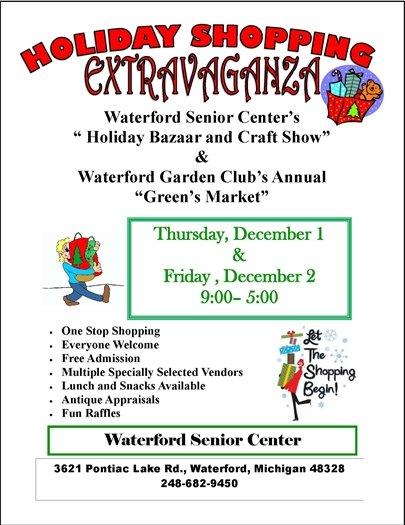 Holiday Shopping & Greens Market