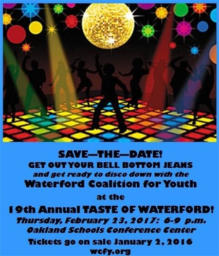 Taste of Waterford - Save the Date