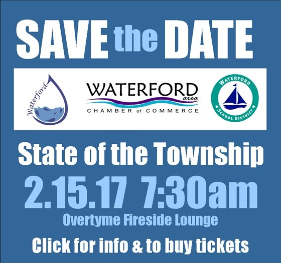 save the date State of the Township