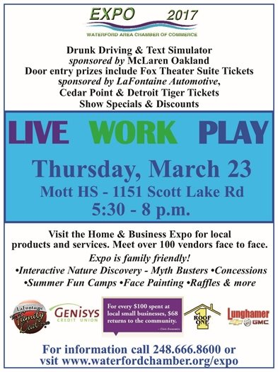 Live Work Play Expo 2017