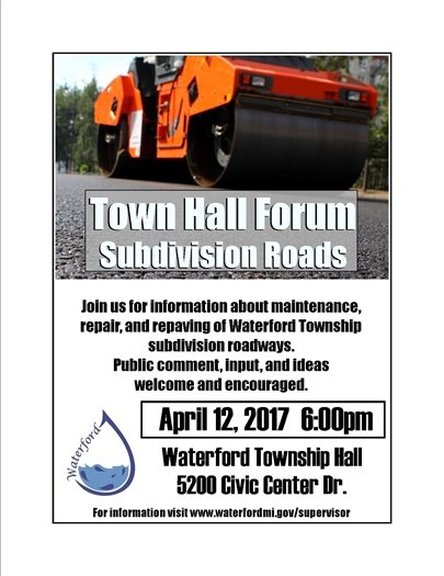 town hall sub roads