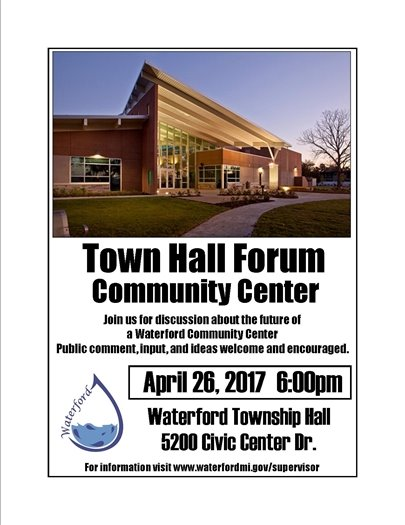 town ahll community center