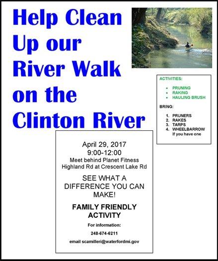 riverwalk cleanup