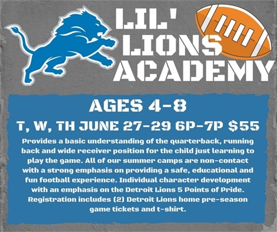 Lil' Lions Academy