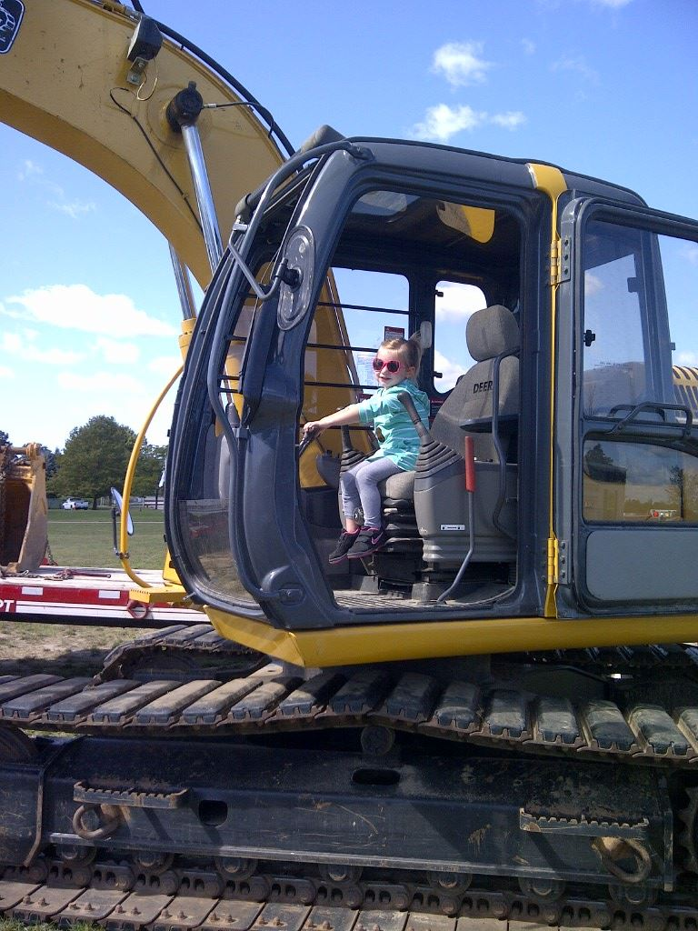 Big Wheels backhoe