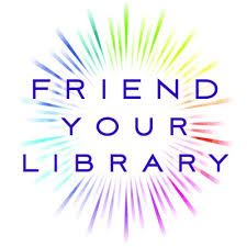 FRIEND YOUR LIBRARY graphic
