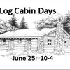 log cabin days 2017