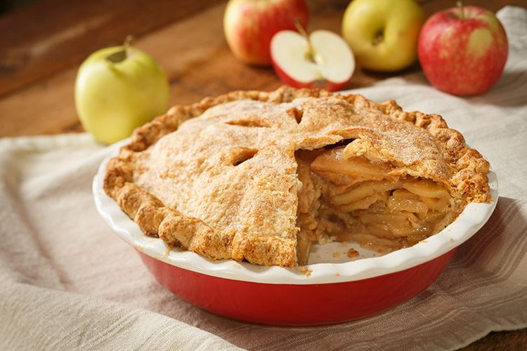 Apple pie deep dish