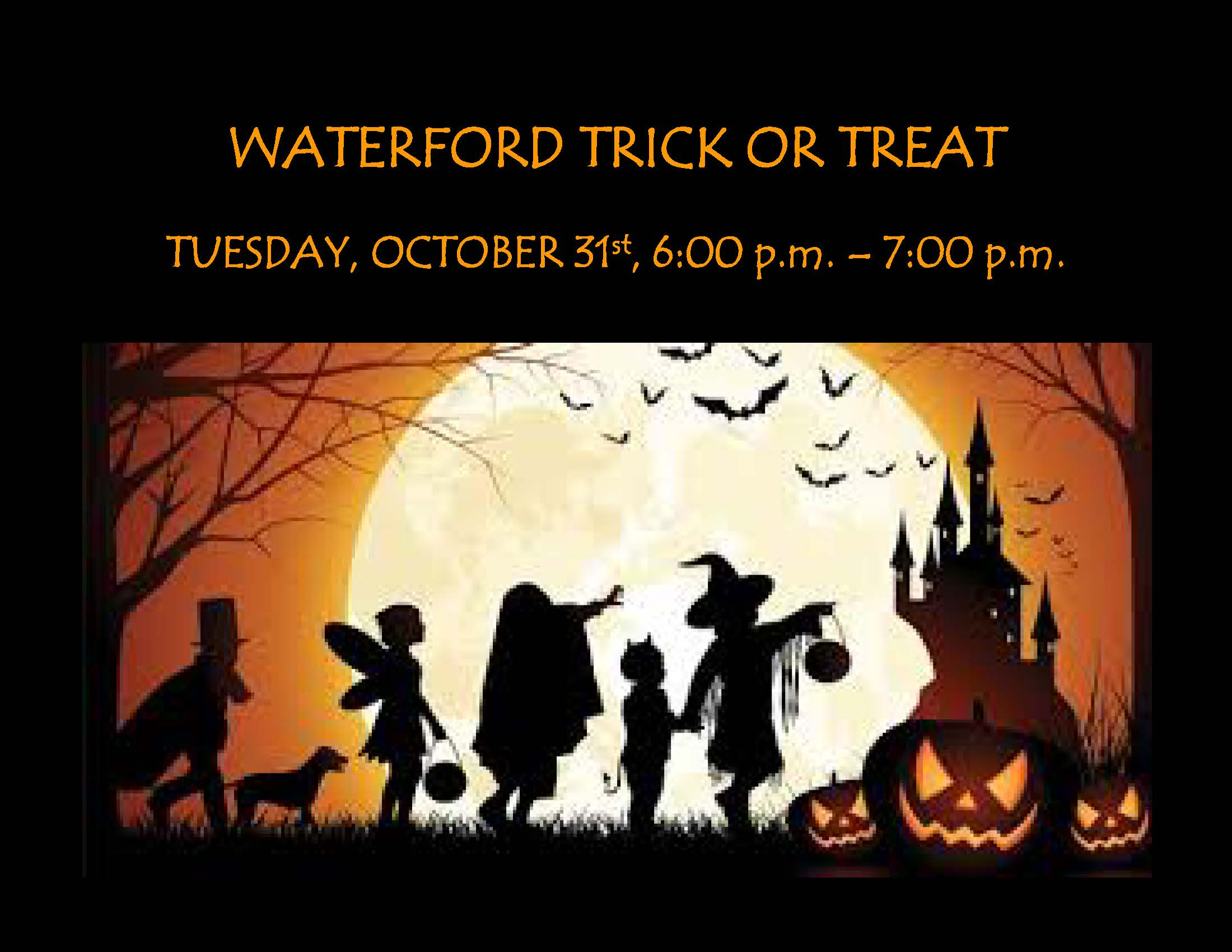 WATERFORD TRICK OR TREAT