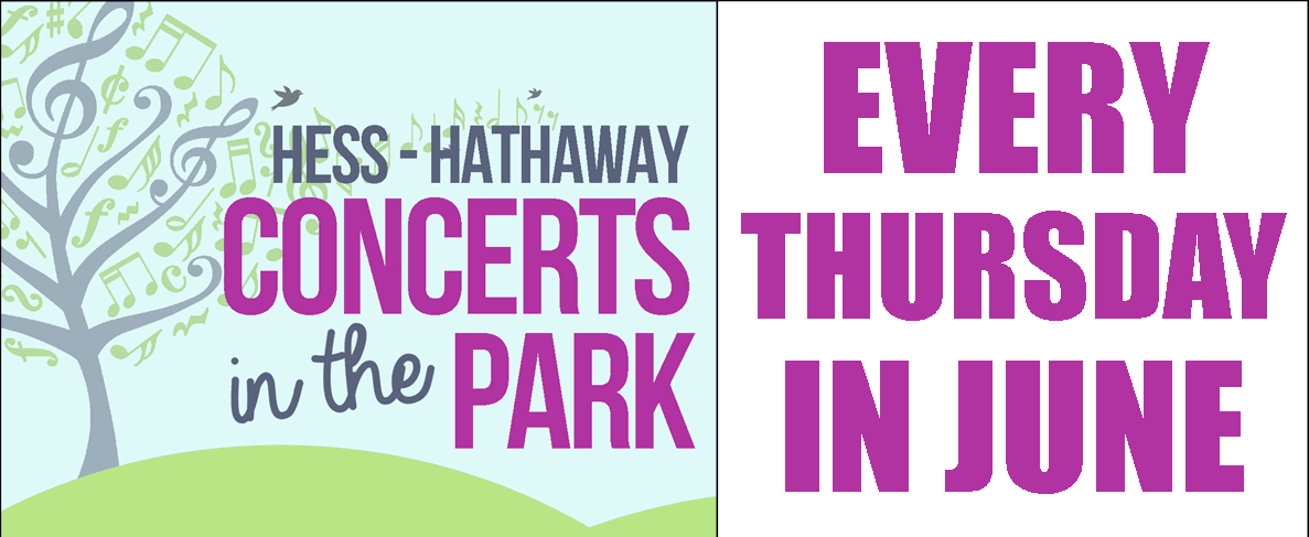 Concerts in the Park 2018 homepage banner
