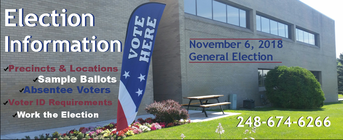 Election Day Homepage Banner