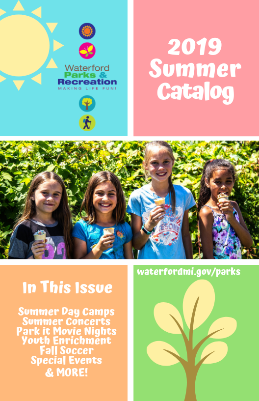 Summer Catalog Cover 2019