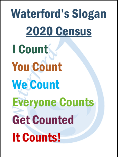 census slogan graphic