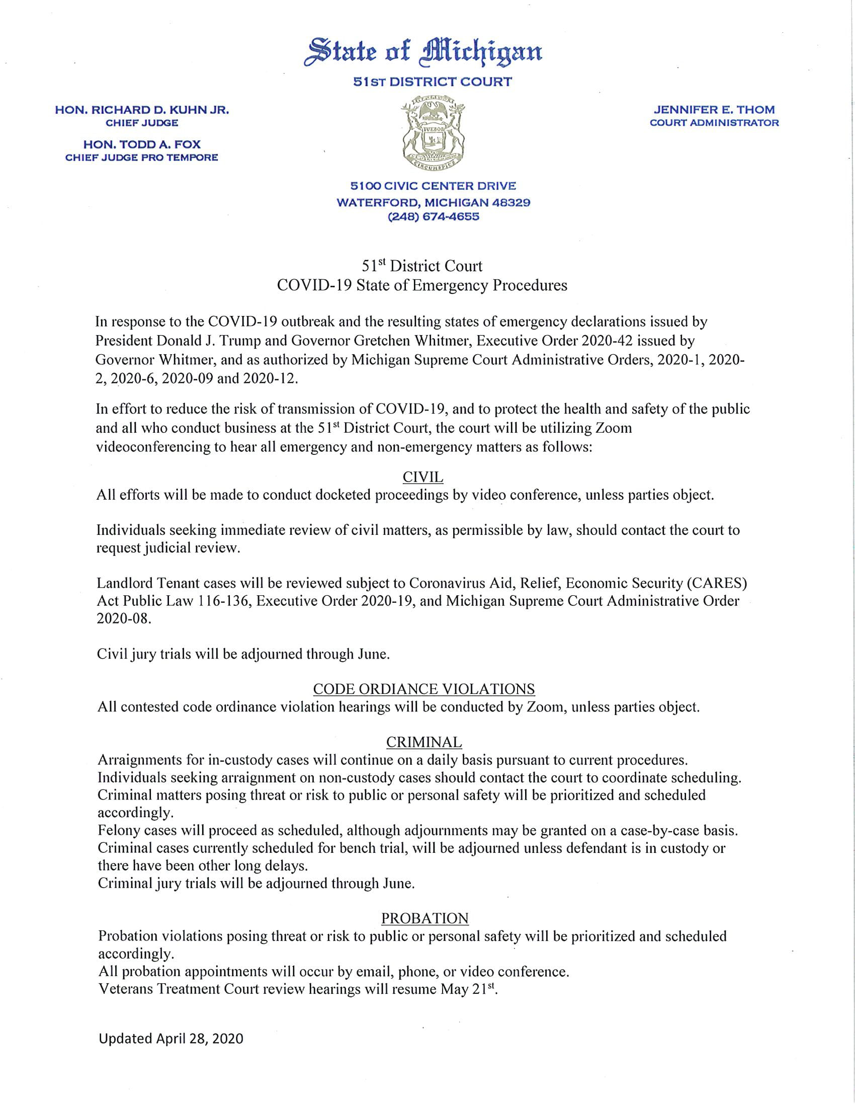 D51 Public Notice Update - April 28th, 2020-1