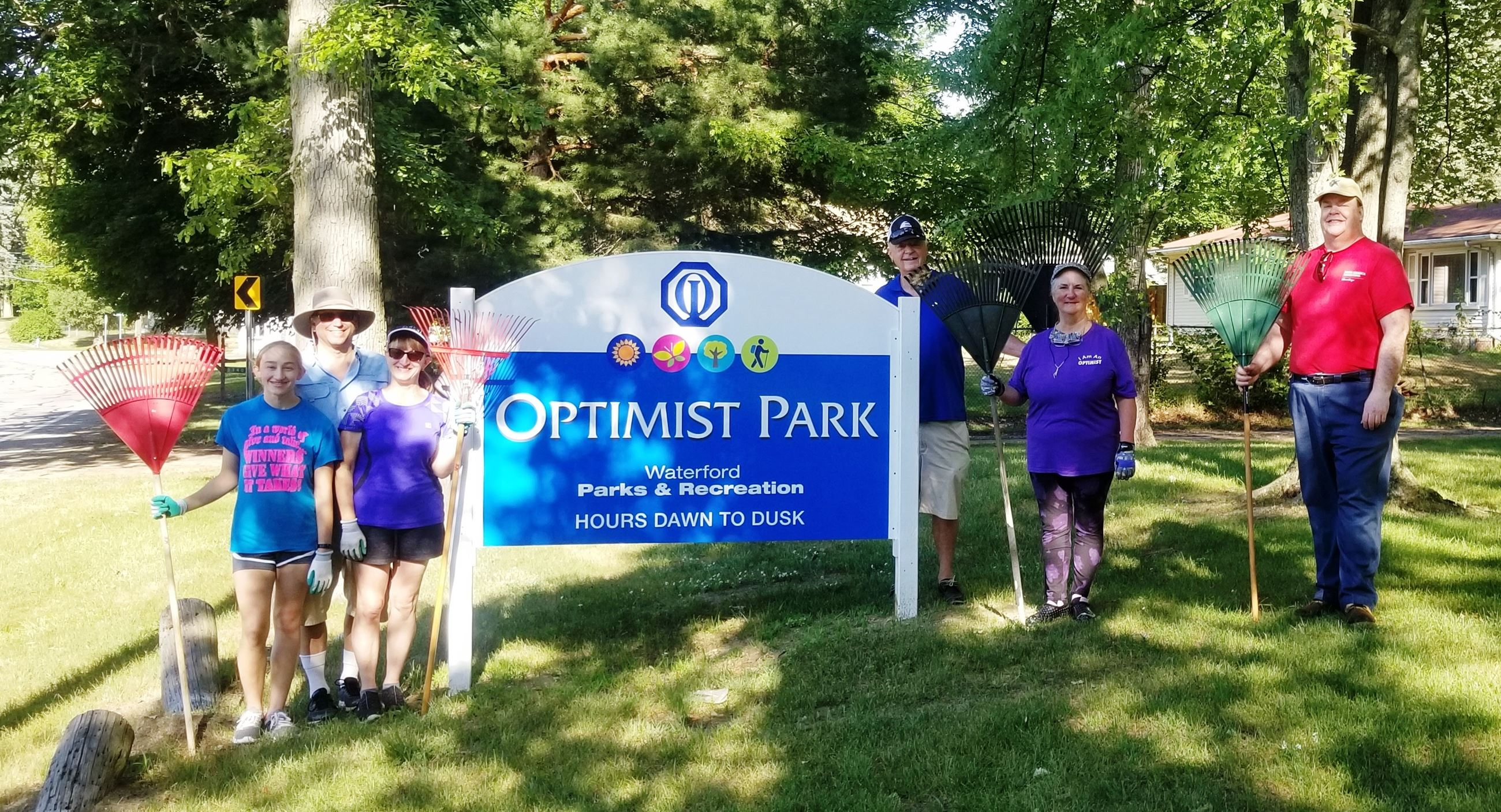 2020 Breakfast Optimist Club at Optimist Park