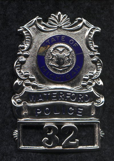 Police Badge Series 3B