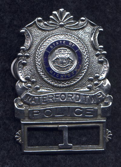 Police Badge Series Hat Badge
