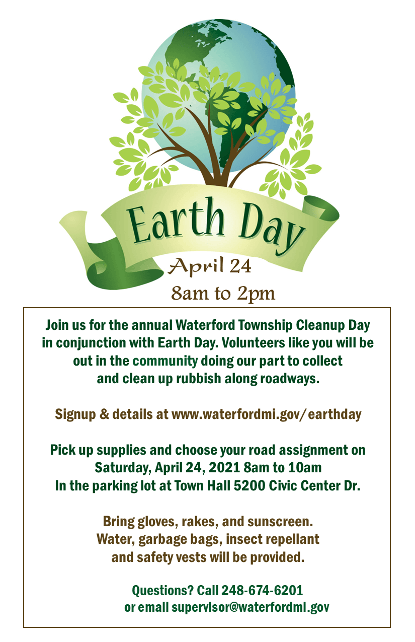 2021 earth day half page handout