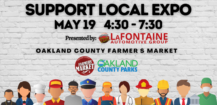 Support Local Expo Banner