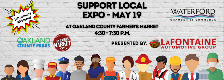 2021 Support Local Expo website banner