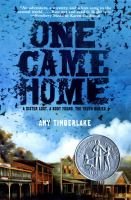 One Came Home Opens in new window