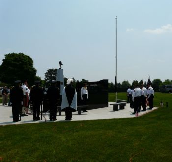 Waterford Township Veterans Memorial Dedication 11