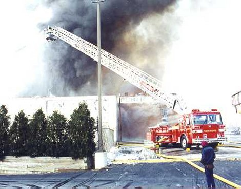Oliver Supply Warehouse Fire (1996)